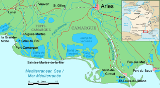 Saintes-Maries-de-la-Mer, Camargue, France