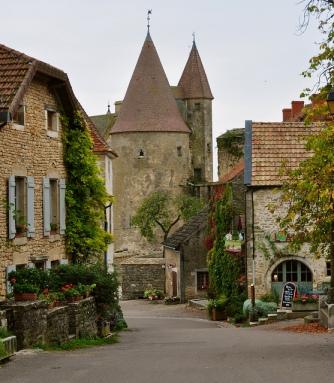 Châteauneuf-en-Auxois, Burgundy, France
