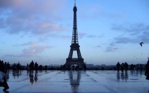 Eiffel Tower, built by Gustave Eiffel, Paris, France