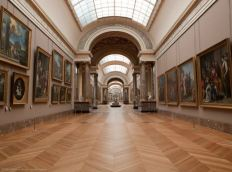 Louvre Museum, Paris, France from the Louvre, http://www.louvre.fr/