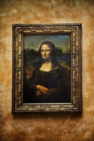 Mona Lisa by Leonardo da Vinci, Louvre Museum, Paris, France