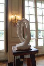 Musée Rodin, Hôtel Biron, The Cathedral by Auguste Rodin (1908), Paris, France