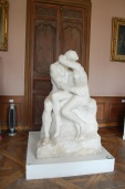 Musée Rodin, Hôtel Biron, The Kiss by Auguste Rodin (1882), Paris, France