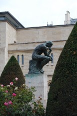 Musée Rodin, Hôtel Biron, The Thinker by Auguste Rodin (1903) Paris, France