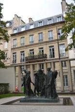 Musée Rodin, The Burghers of Calais by Auguste Rodin, Hôtel Biron, Paris, France