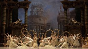 "Rudolf Nureyev's version of ""The sleeping beauty-La Belle au bois dormant,"" composer Tchaikovsky, Paris Opera Ballet 2013, Paris, France from Opéra national de Paris 