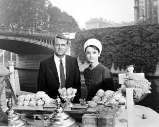 Charade (1963 film), Cary Grant & Audrey Hepburn, Paris, France