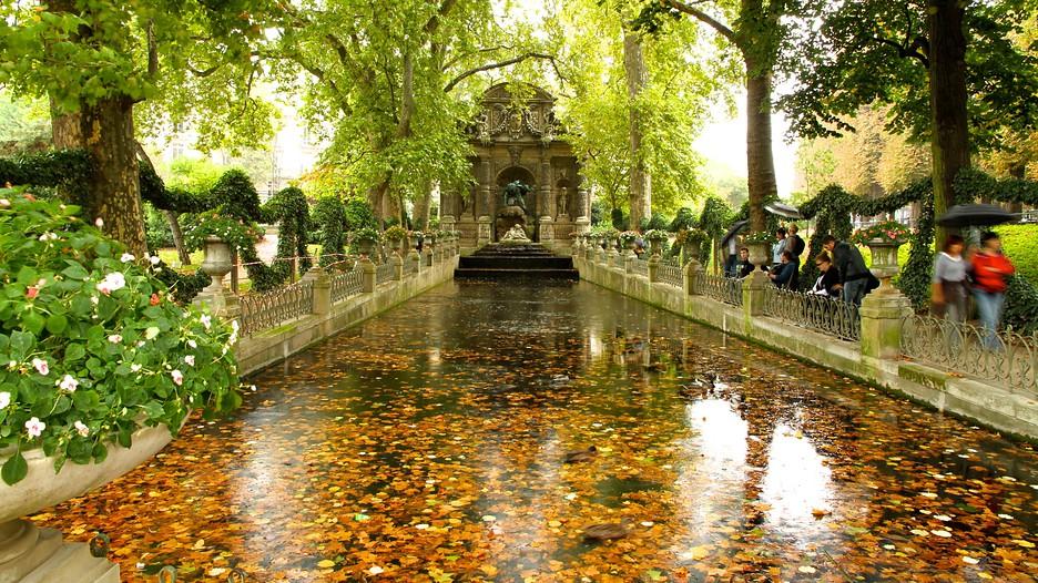 Luxembourg Gardens Paris France Le Splendide Voyage