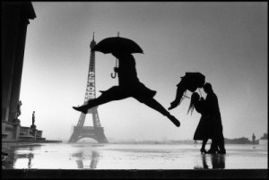Photograph by Henri Cartier Bresson, Paris, France