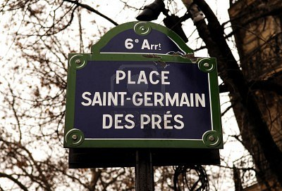Saint-Germain-des-Prés on the 6th arrondissement Paris, France